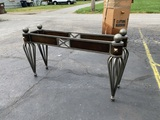 Great Iron Entryway Table (No Glass)