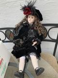 Rose's Dollhouse Porcelain Doll