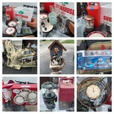 Decorative Items, Coleman Lanterns, Clock, Wii Accessories, Holiday Plates & More