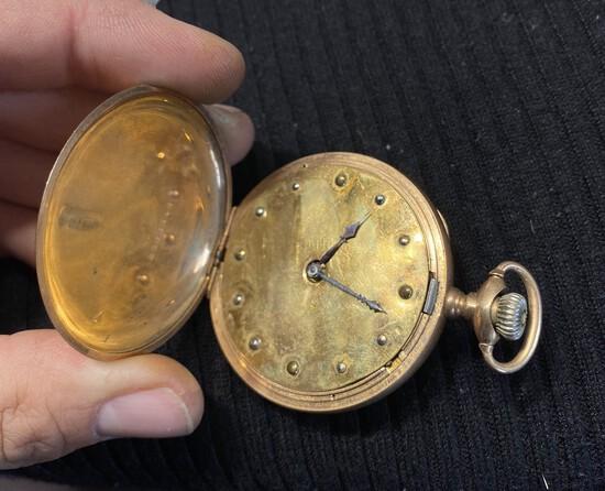 Antique Hamilton Blind person's pocket watch