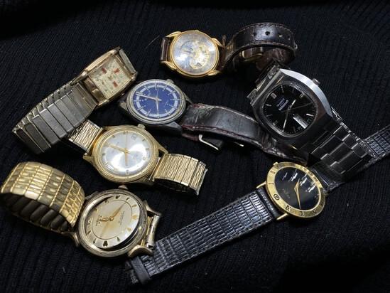 Vintage Men's Watches Lot