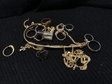 Large lot of 73.1 grams of 14k gold