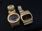 Vintage Red Face Vintage Digital Watches