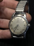 Vintage Omega Automatic Watch in Stainless Steel Case