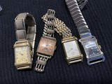 Group lot of 4 Antique Men's Watches