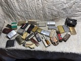 Group lot of assorted vintage lighters