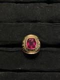 1960 Hughes High School Class Ring - 10k gold 13.17 grams