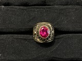 Gold Vintage Class Ring - 10k gold, 14.63 grams.