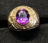 Vintage Gold New York University Class Ring