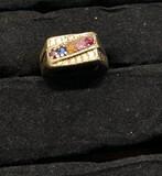 10k gold men's ring - 9.5 grams.
