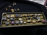 Large lot of rings