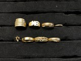 Group of 14k gold antique rings - 32 grams