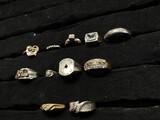 Large group of 14k gold rings - 45.6 grams