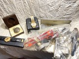 Lot of watch bands, watches