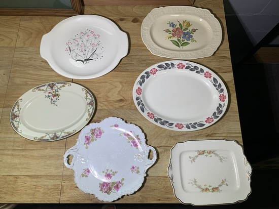 Vintage 6 Platters