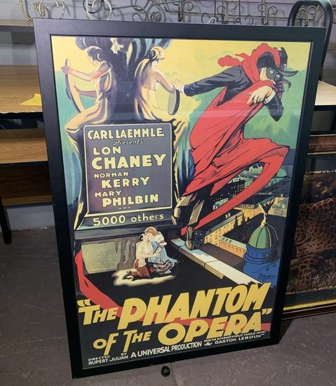 Phantom of the Opera Framed Poster