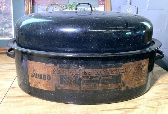 Vintage Roaster-Enamel