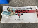 1935 Monopoly Game in box