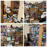 Lot of Shelves (contents not included)