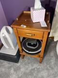 Vintage maple nightstand