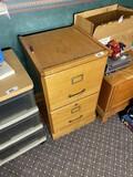 Vintage Oak file cabinet