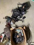 Large lot of vintage cameras