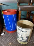 Drum Toy Box PLUS Scour Less vintage shipping barrel