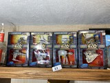 Group lot of Star Wars Series Alpha Toys Micro Machines toys in boxes