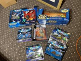 Group lot of Micro Machines Star Trek + Babylon 5, Star Wars toys in boxes