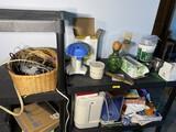 Shelf lot of assorted items