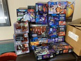 Group lot of Star Wars Micro Machines toys in boxes