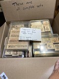 Huge lot of Mostly complete craft stamp sets - Stampin' Up