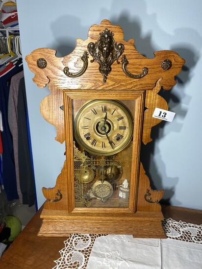 Antique Gingerbread Clock