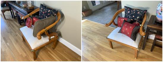 2 Very Nice Asian Style Armchairs