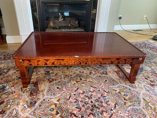 Larger Sized Asian Style Coffee Table