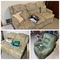 Love seat, couch, reclining chair lot