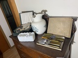Group of assorted antiques