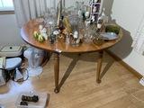 Antique Oak Drop Leaf Table