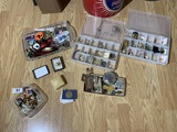 Costume Jewelry and more lot including Sterling Silver