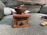 Rare Little Tot miniature antique coffee grinder
