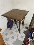 Antique Oak Card Table