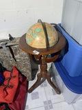 Vintage globe on stand