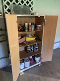 Garage Cabinet and Contents