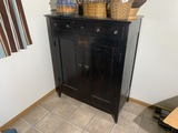 Antique Pie Safe Type Cabinet