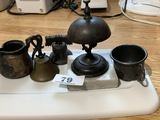 Antique Counter bell, old bells and more