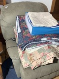 Power chair and comforters lot