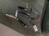 Large lot of assorted old pocket knives
