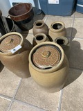 Group lot of stoneware including salt glazed