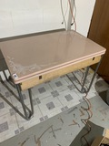 1950s table w/Expanding Enamel Top