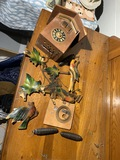 Antique Cuckoo Clock with weights